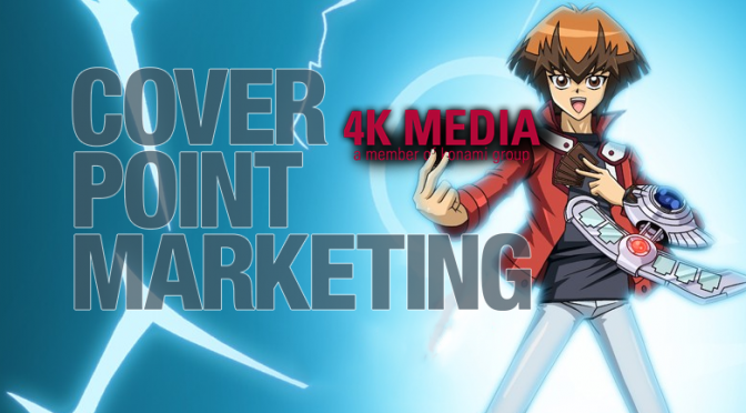 4K Media Appoints Coverpoint Marketing as Yu-Gi-Oh's Licensing Agent for Australia & New Zealand
