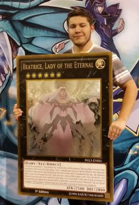 YCS NV Giant card winner Russell Novak-Burdick