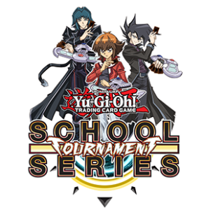 Yu-Gi-Oh! TRADING CARD GAME School Tournament Series logo
