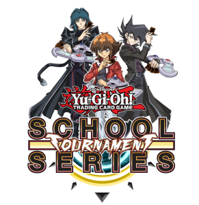 The Yu-Gi-Oh! TRADING CARD GAME School Tournament Series logo