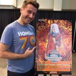 Darren Dunstan, the voice actor for Maximillion Pegasus