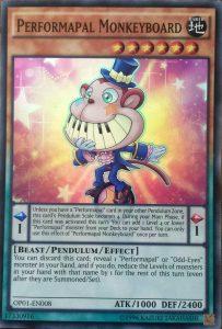 Performapal Monkeyboard-OP01-EN-SR-UE. English