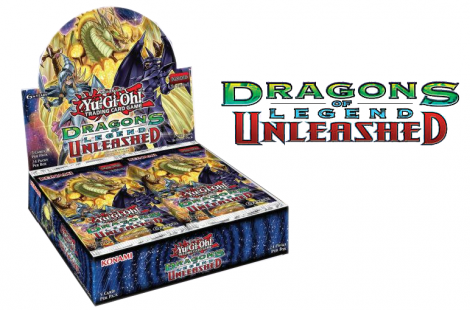 Dragons of Legend -Unleashed- box and logo