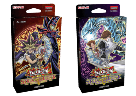 structure-deck - yugi muto and structure deck - seto kaiba