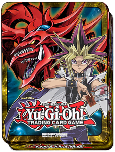yugi and slifer mega tin