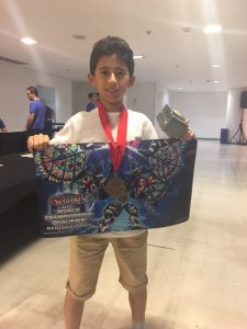 Enzo Salviati is the YCS Rio Dragon Duel Champion