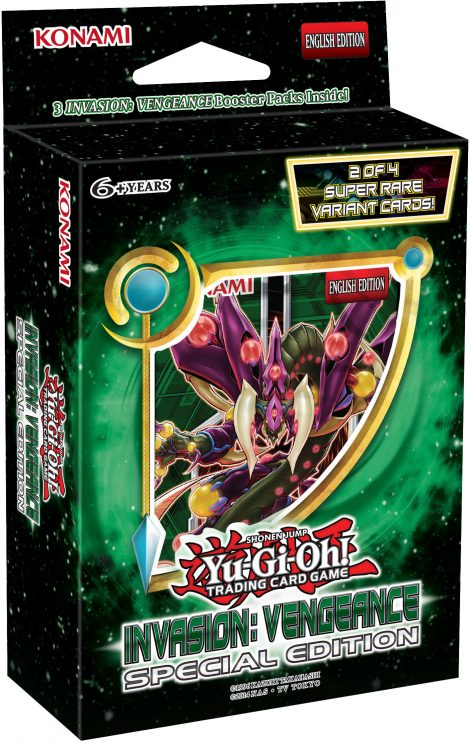 Invasion: Vengeance Special Edition Box