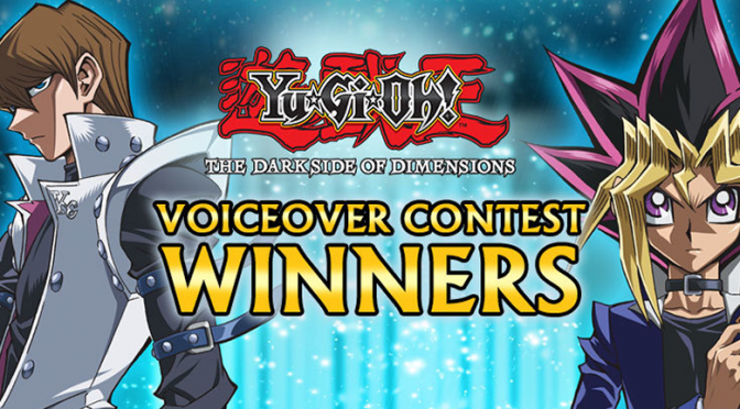 Yu-Gi-Oh! Voiceover Contest Winners