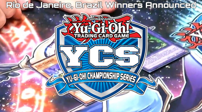 Konami announces Galileo De Obaldia and Enzo Salviati as the YCS Rio de Janeiro Champion