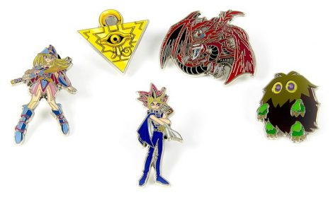 new collectible YuGiOh pins are available