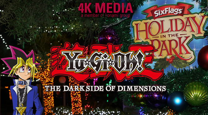 Yu-Gi-Oh! THE DARK SIDE OF DIMENSIONS Movie Promotion at Six Flags This Holiday Season