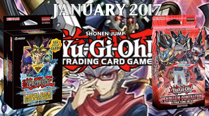 Konami Details their January Yu-Gi-Oh! TRADING CARD GAME Releases