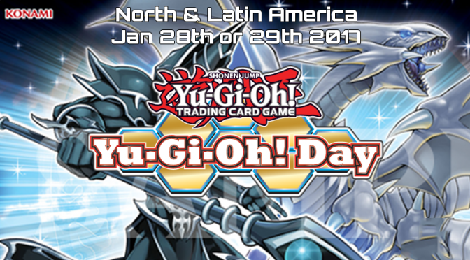 North America and Latin America Yu-Gi-Oh! Day is Coming Up