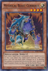 Mythical Beast Cerberus-BP03-EN-C-1E