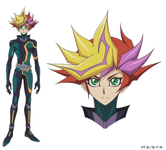 Yugioh Character Design : Yu gi oh vrains anime visual designs revealed yugioh world