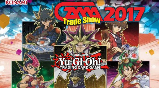 Yu-Gi-Oh! TRADING CARD GAME PRODUCTS AT GAMA TRADE SHOW