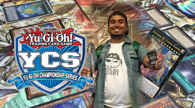 YCS Guatemala City 2017 Champion Gerald South Chaves