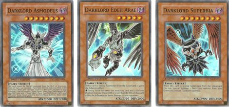 YCS Dragon Duel Darklord Prize Cards -