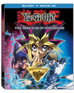 Yu-Gi-Oh! The Dark Side of Dimensions hpme video Blu-ray