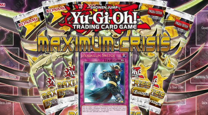 Maximum Crisis booster set and Duelist Pack: Dimensional Guardians on store shelves in May