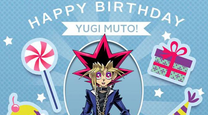 Yugi Muto's birthday Yu-Gi-Oh! Duel Links