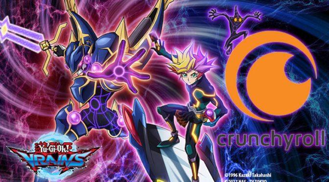 Yu-Gi-Oh! VRAINS Simulcast On Crunchyroll