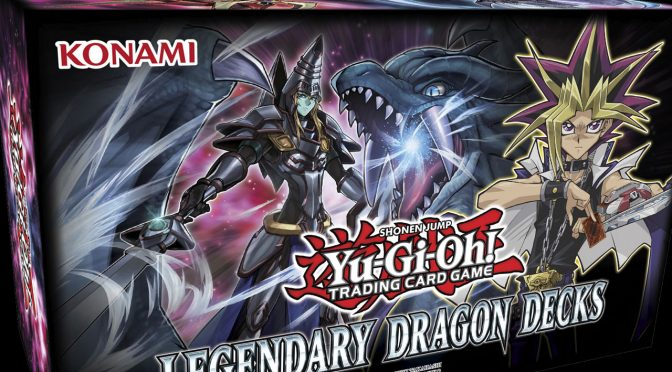Craft your Dueling Legend this Holiday Season with Yu-Gi-Oh! TCG Legendary Dragon Decks!