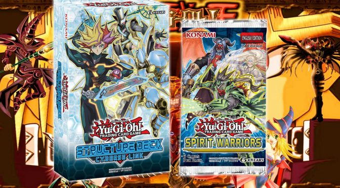 Yu-Gi-Oh! Structure Deck: Cyberse Link and Spirit Warriors Special Booster Announced