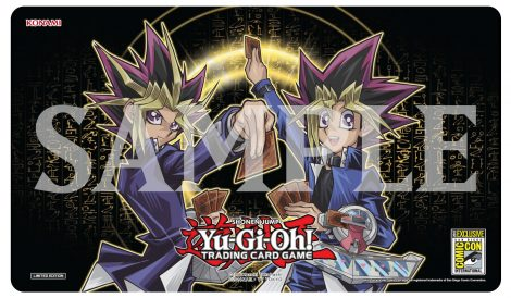 ygo tcg comic-con 2017 game mat