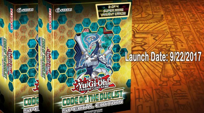 Code of the Duelist Special Edition Box Drops Sept 22