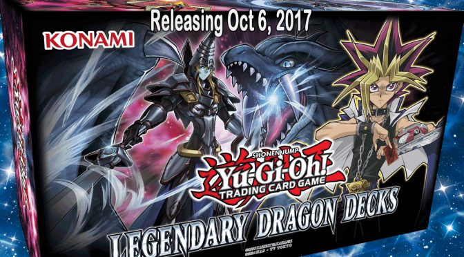 Yu-Gi-Oh! TCG Special Holiday Release Legendary Dragon Decks drops Oct 6th