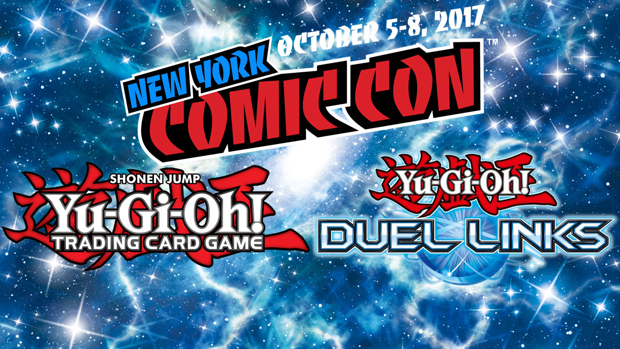 its time to duel yu gi oh tcg is at new york comic con updated