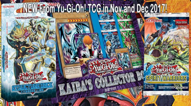 NEW From Yu-Gi-Oh! TRADING CARD GAME in November and December!