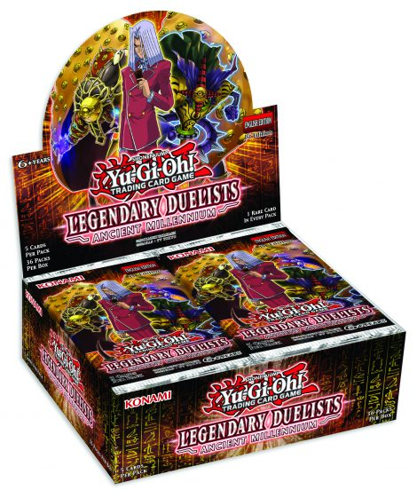 Legendary Duelist- Ancient Millennium_Display-Mock