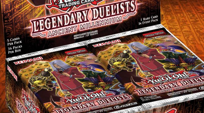 Yu-Gi-Oh! Legendary Duelists: Ancient Millennium Announced