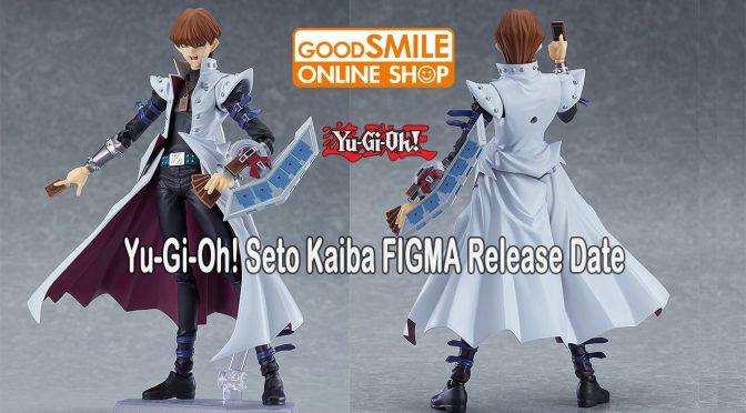 Yu-Gi-Oh! Seto Kaiba FIGMA Available Soon