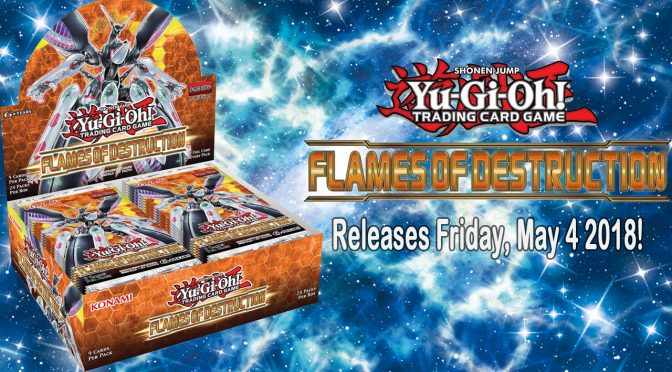 Yu-Gi-Oh! Flames of Destruction Announcement