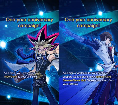 1-Year Global Release Anniversary Campaign!