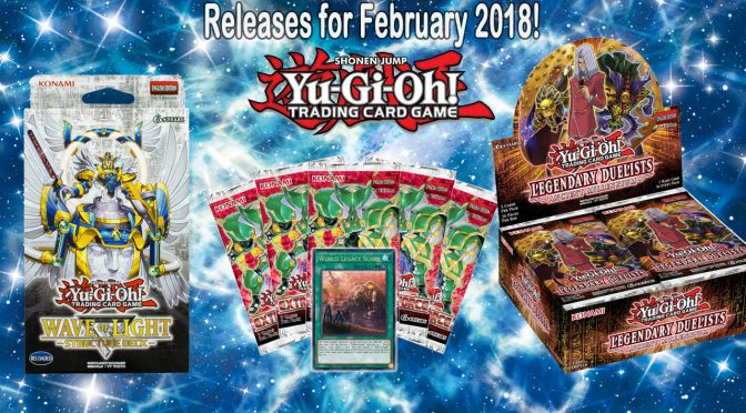 NEW From Yu-Gi-Oh! TCG in February 2018
