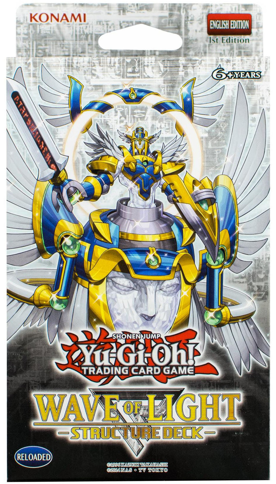New from yu gi oh tcg in february 2018 yugioh world structure deck wave of light aloadofball Image collections
