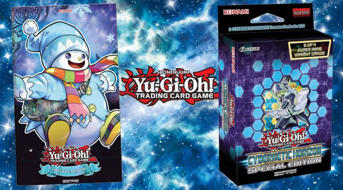 Yu-Gi-Oh! Advent Calendar and Cybernetic Horizon Special Edition Announcements
