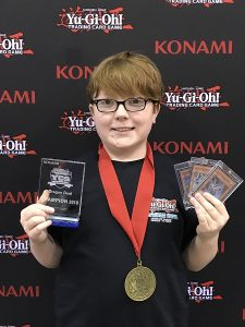 Brian Evilsizer is the Dragon Duel Champion for YCS Memphis!