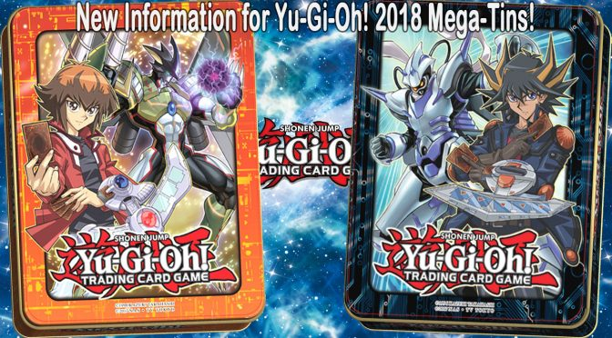 New Information for Yu-Gi-Oh! 2018 Mega-Tins