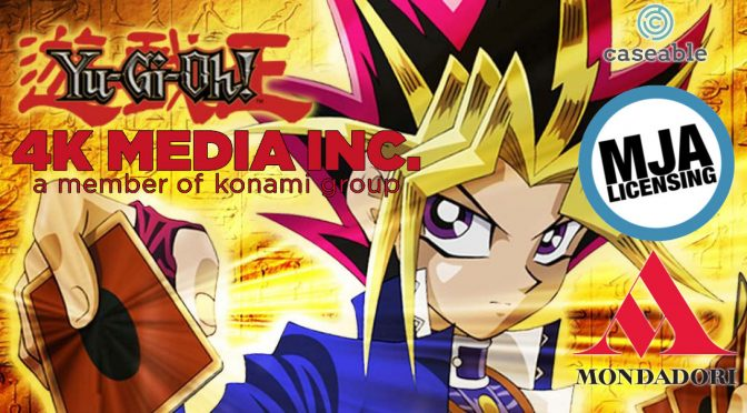 4K Media Expands Yu-Gi-Oh! Merchandise with 3 New International Licensing Deals