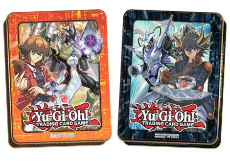 2018 MEGA-TINS -  Jaden and Yusei Mega-Tins