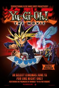 Yu-Gi-Oh! The Movie: Pyramid of Light UK ReRelease Poster