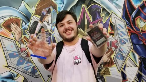 Dakota Angeloff takes first place at YCS Secaucus and earns YCS Champion title