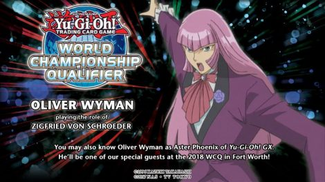 Special guests at the North America WCQ: Oliver Wyman as Zigfried von Schroeder of the Grand Championship arc!
