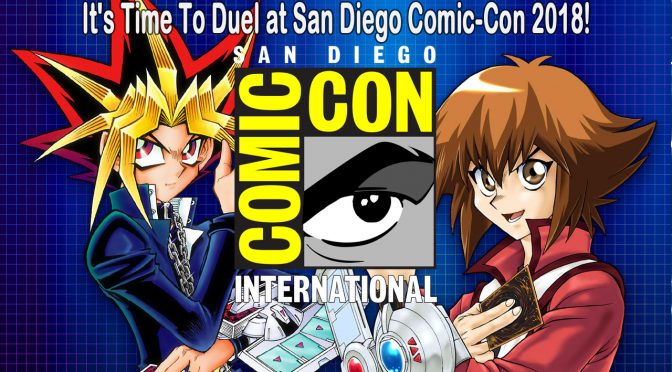 It's Time To Duel with Yu-Gi-Oh! at San Diego Comic-Con!