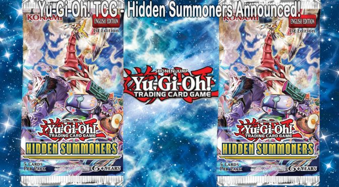 Upcoming Release from Yu-Gi-Oh! TCG – Hidden Summoners Announced!